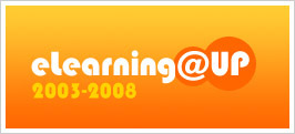 Logo do Projeto E-learning@UP