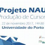 Disponibilizada gravação da sessão de trabalho do projeto NAU
