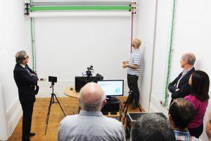 Novo estúdio da UPdigital para gravação de conteúdos digitais