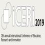 Conferência ICERI 2019: submissão de artigos